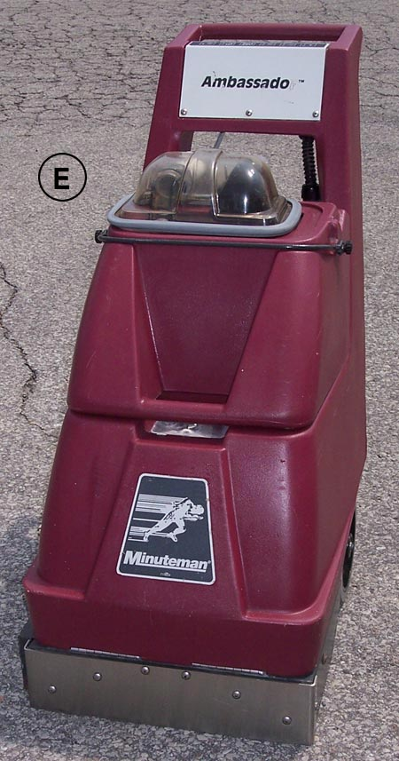 Minuteman Ambassador Self Contained Carpet Cleaner
