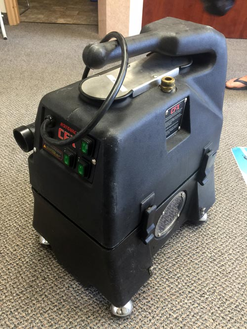 Rotovac CFX Carpet Cleaning Machine