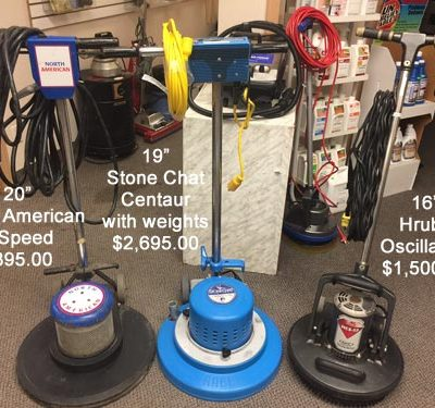 North American, Centaur Stone Chat, Hruby Floor Cleaning Machines