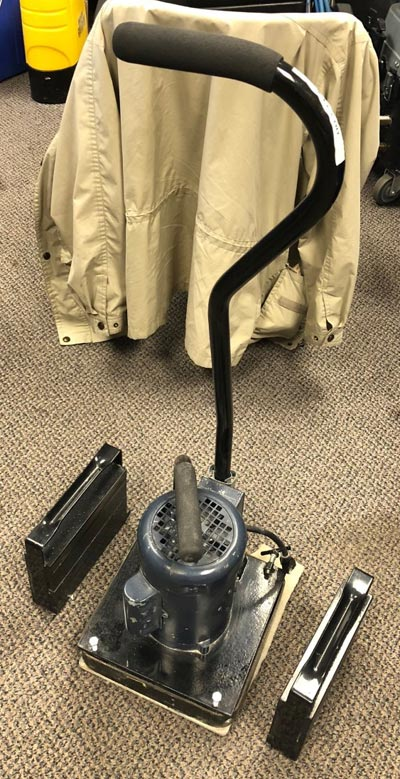 Oscillating Floor and Grout Cleaning Machine