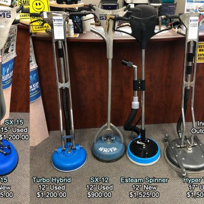tile & grout cleaning spinners