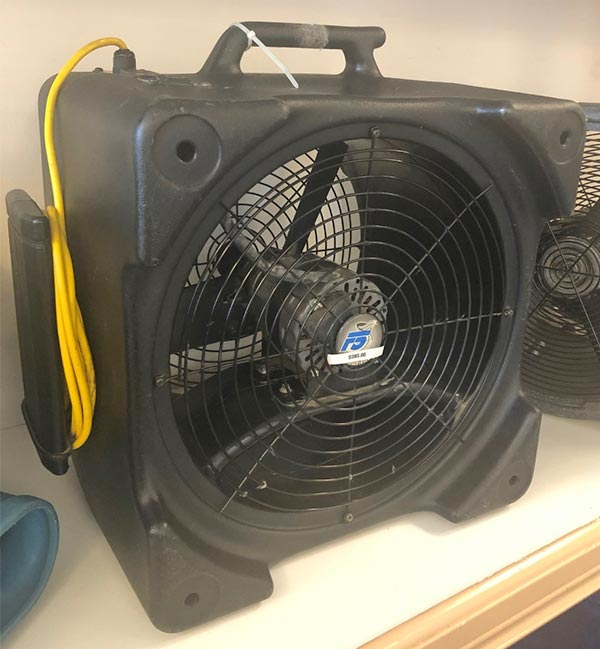 powr flite f5 air mover for sale